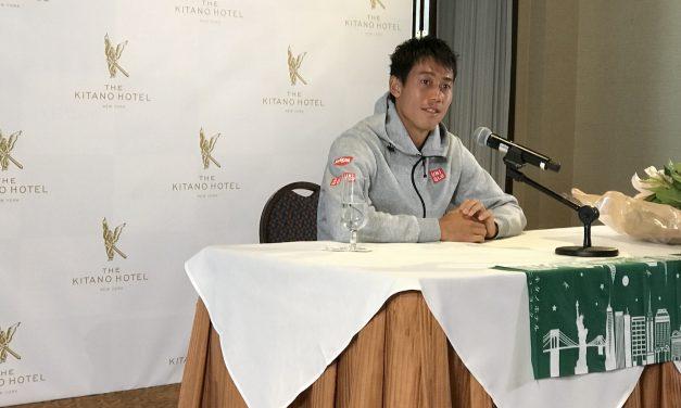 錦織圭選手、USオープンに復活! NYで「攻めるテニスをしたい」と語る!