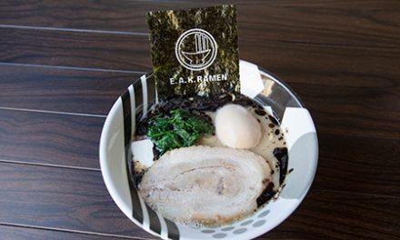 ラーメン戦国時代、太麺のE.A.KラーメンがNYに上陸!