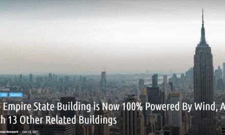 NYエンパイアステートビル、風力発電100%へ転換!地球環境に配慮 (加筆修正)