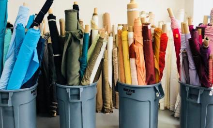 NYのデザイナーを救うリサイクル集団Fab Scrap